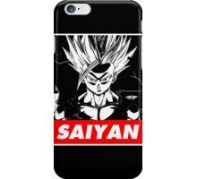 Son Gohan Saiyan obey style iPhone Case/Skin