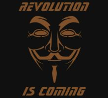 ANONYMOUS T-SHIRT V FOR VENDETTA MASK by harahap88