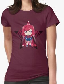 Love Live! - Maki Nishikino (chibi edit) Womens Fitted T-Shirt