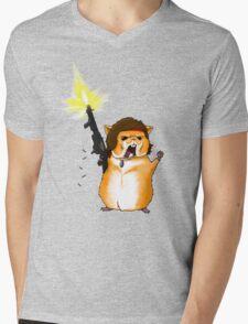 Hamster Rambo Mens V-Neck T-Shirt