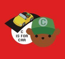 """ABC Bears """"C is for Car"""" One Piece - Short Sleeve"""