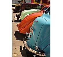 Nice rear ends Photographic Print