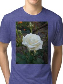 White Beauty Tri-blend T-Shirt