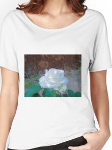 White Beauty 2 Women's Relaxed Fit T-Shirt
