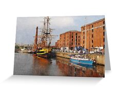 Liverpool Maritime Museum Greeting Card
