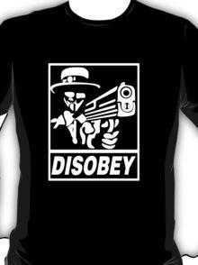 ANONYMOUS T-SHIRT V FOR VENDETTA MASK T-Shirt