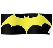 Batgirl (New 52) Logo Poster
