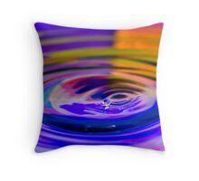 Liquid Diamond Throw Pillow