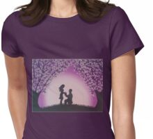 Night-time Proposal Womens Fitted T-Shirt