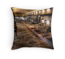 Floor Squares Throw Pillow