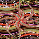 Medusa Pixels by Deborah Dillehay