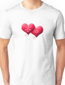 Two Hearts Valentine's Unisex T-Shirt