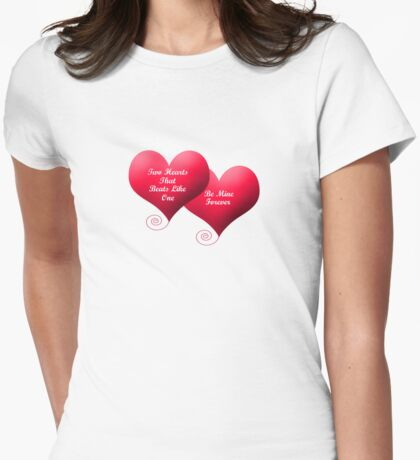 Two Hearts Valentine's T-Shirt