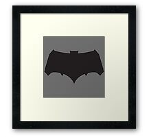 Batman (Batman v Superman: Dawn of Justice) Logo Framed Print