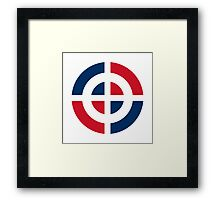Dominican Air Force - Roundel Framed Print