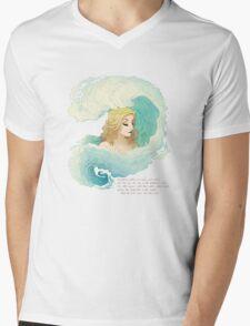 The Tide Rises, The Tide Falls Mens V-Neck T-Shirt