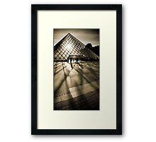 Musée du Louvre Framed Print