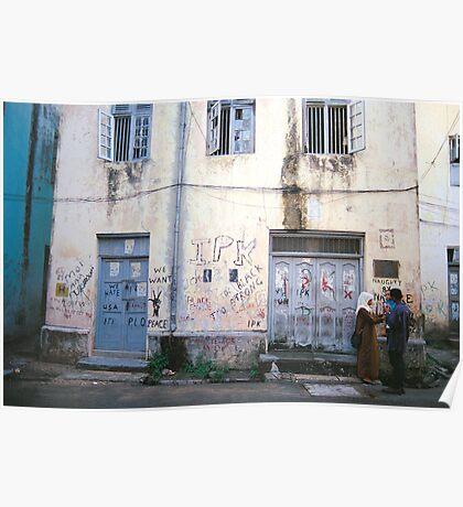 Zanzibar Backstreets   Poster