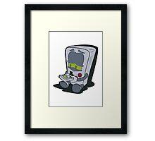 GameBoy Plays Gameboy... Framed Print
