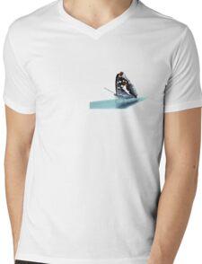 Apatura iris on the runway Mens V-Neck T-Shirt