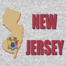New Jersey state flag by peteroxcliffe