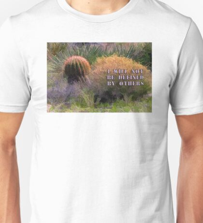 Red Spine Barrel Cactus and Friends Unisex T-Shirt