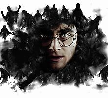 Harry Potter & Dementors by Daveseedhouse