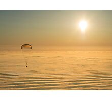 Expedition 42 Soyuz Landing Photographic Print