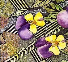 Pansy Floral by livehighpop