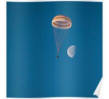 Expedition 42 Returns to Earth Poster