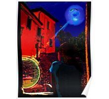 Night Window Legend Poster
