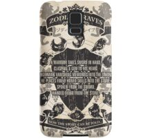 Zodiac Braves Samsung Galaxy Case/Skin