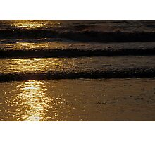 Golden Steps Photographic Print