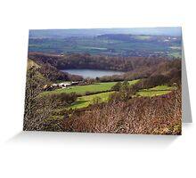 Lake Gormire  -  Yorkshire Moors N.P. Greeting Card