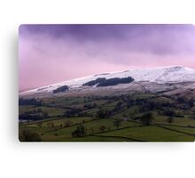 Wether Fell - Yorkshire Dales. Canvas Print