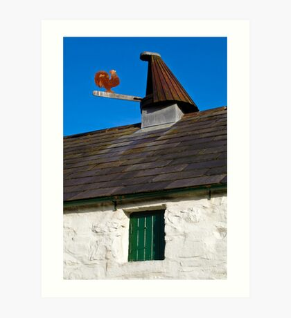Corn kiln at Ballycopeland Art Print