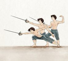 A Study In Fencing by FrauKeks