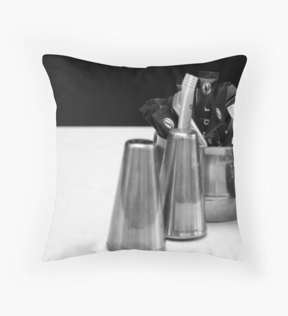 Added Extras Throw Pillow