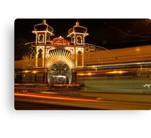 Ghost tram to Luna Park Canvas Print