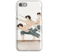 A Study In Fencing iPhone Case/Skin