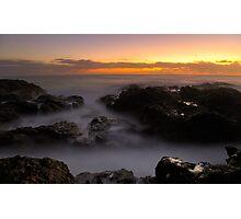 Sunrise at Mullway Photographic Print