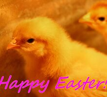 Happy Easter Card by Keala
