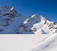 Winter Reservoir by Walter Quirtmair