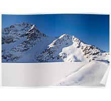 Winter Reservoir Poster