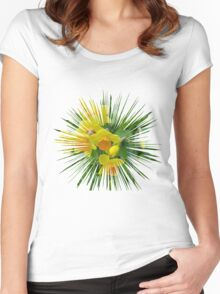 Daffodils.... Women's Fitted Scoop T-Shirt