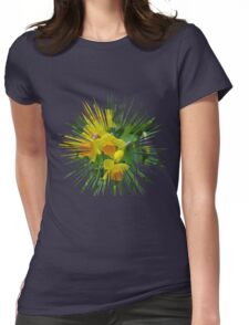 Daffodils.... Womens Fitted T-Shirt