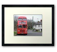 Birmingham Bus (From the Good Old Days) Framed Print
