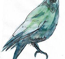 Crow by lintho