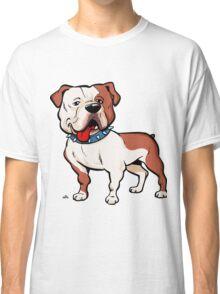 American bulldog cartoon dog Classic T-Shirt