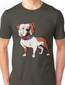 American bulldog cartoon dog Unisex T-Shirt